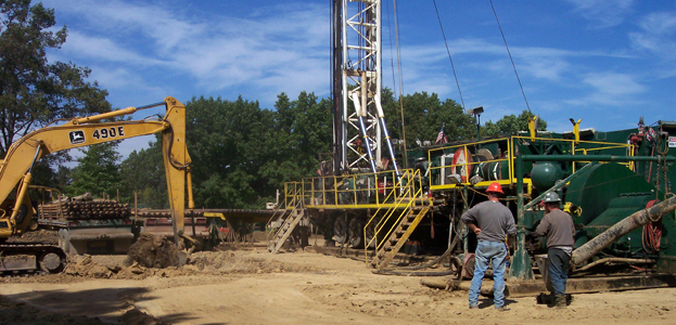 Sight and Sounds of Drilling